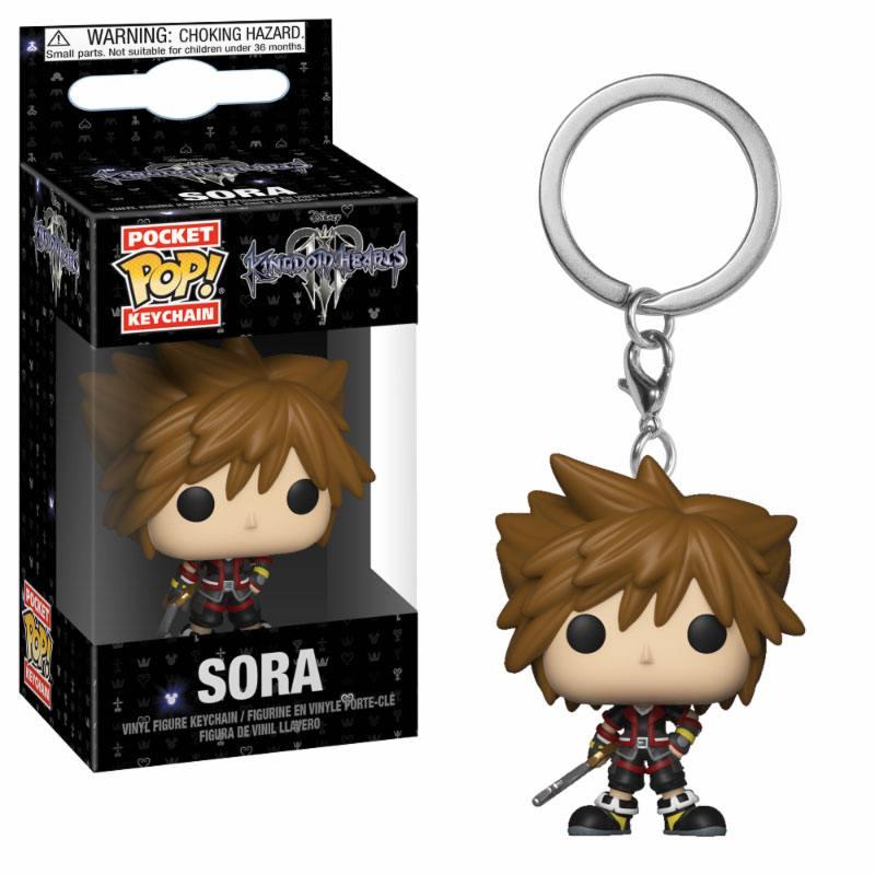 Kingdom Hearts 3 Pocket POP! Vinyl Keychain Sora 4 cm