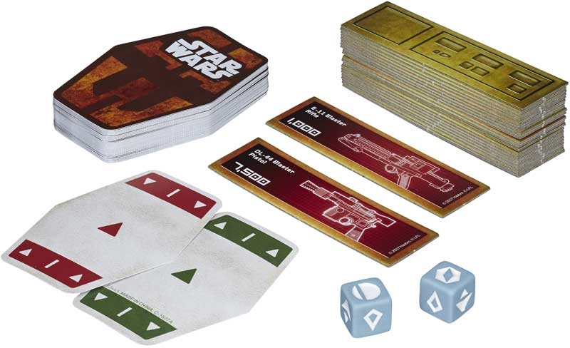 Star Wars Han Solo Game Card
