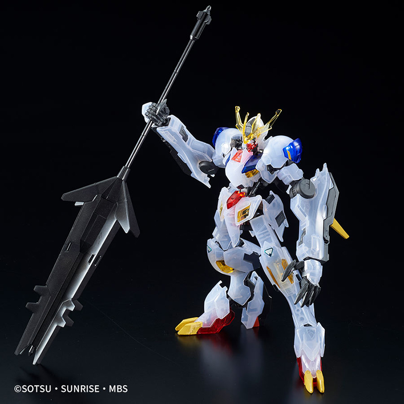 High Grade HG Barbatos Lupus Rex Clear Color 1/144