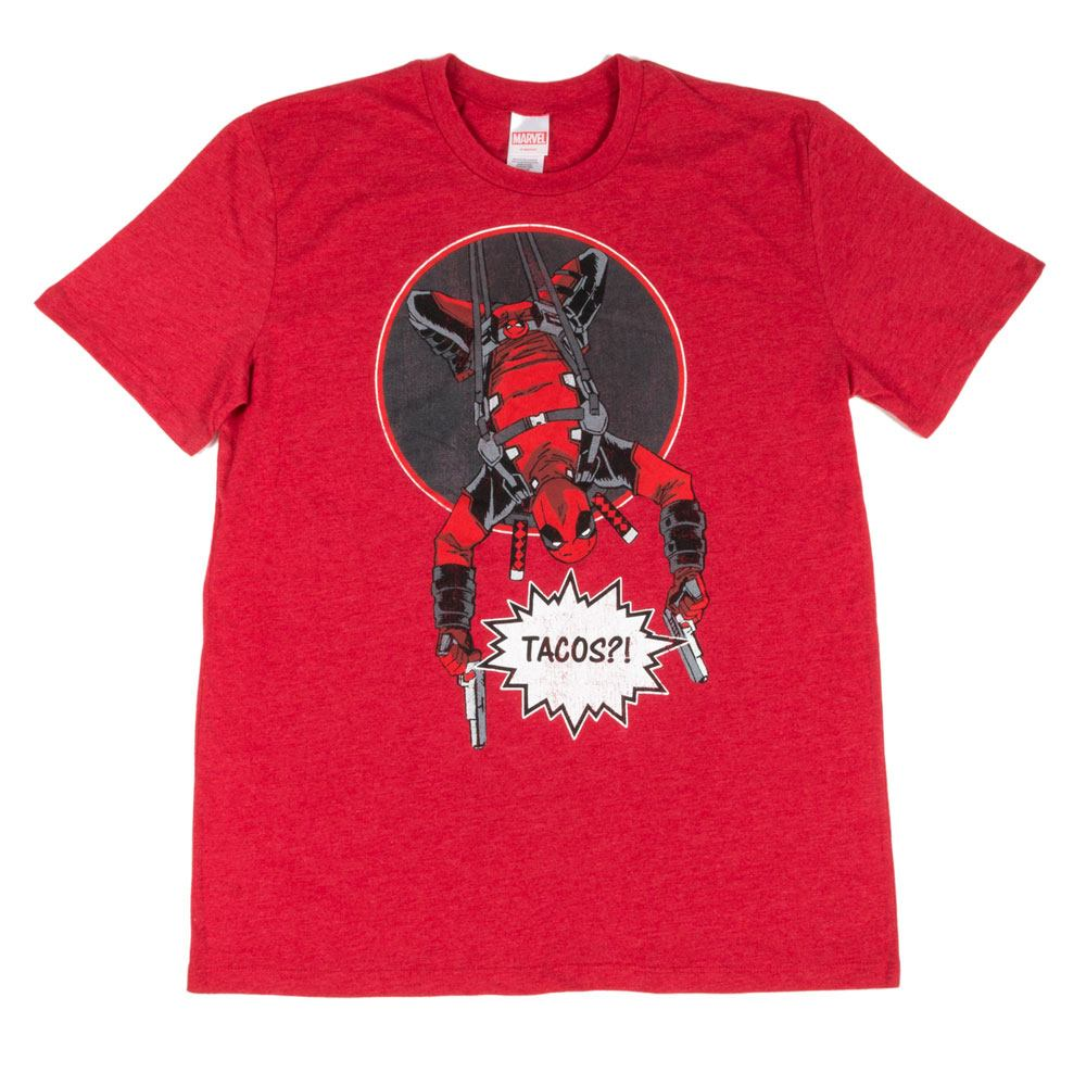 Deadpool T-Shirt Tacos?! LC Exclusive Tamanho S