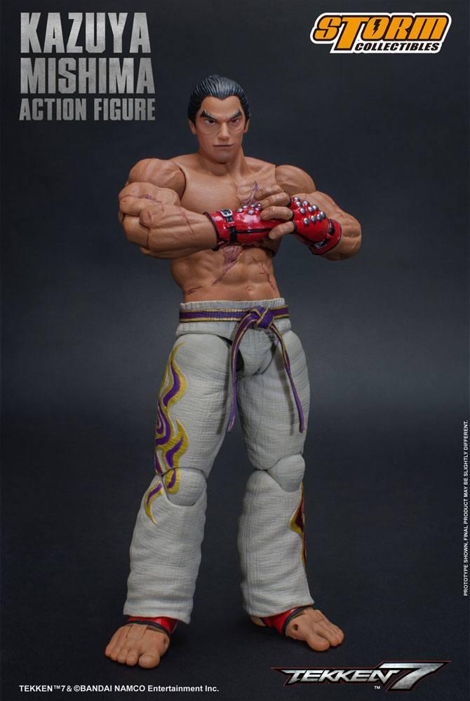 Tekken 7 Action Figure 1/12 Kazuya Mishima 17 cm