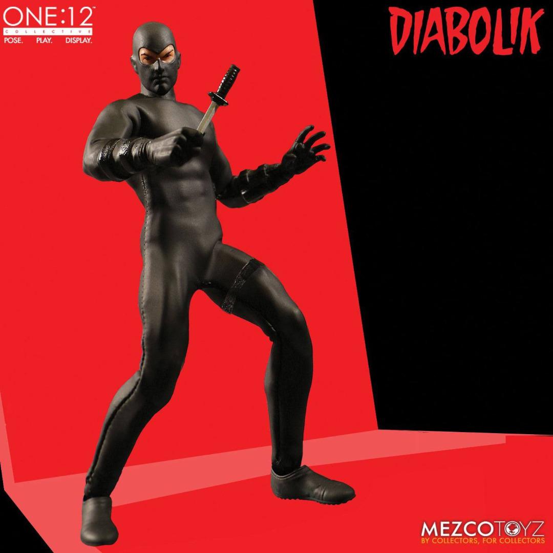 Diabolik Action Figure 1/12 17 cm