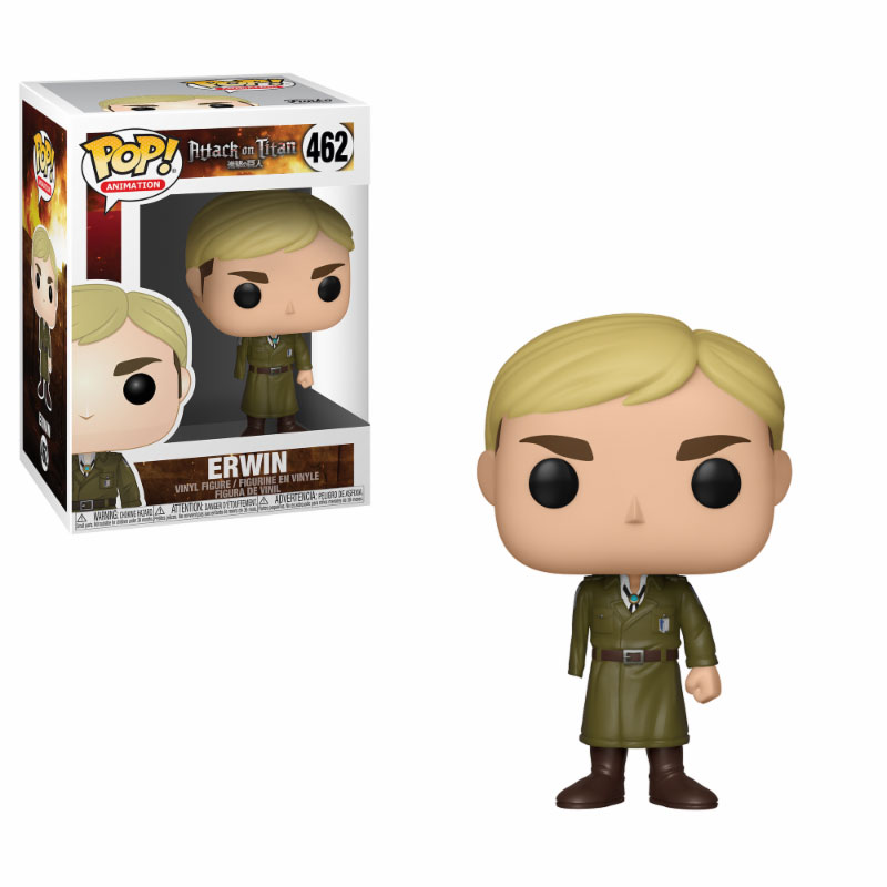 Attack on Titan POP! Animation Vinyl Figure Erwin (One-Armed) 10 cm