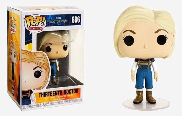 Pop! TV: Doctor Who - 13th Doctor without Coat Vinyl Figure 10 cm