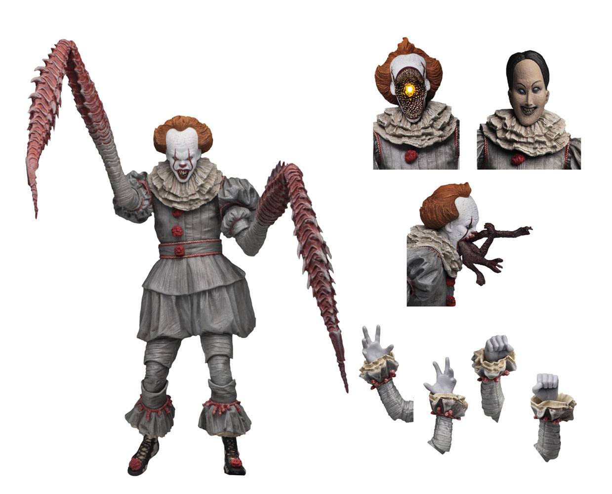 Stephen King's It 2017 AF Ultimate Pennywise (Dancing Clown) 18 cm