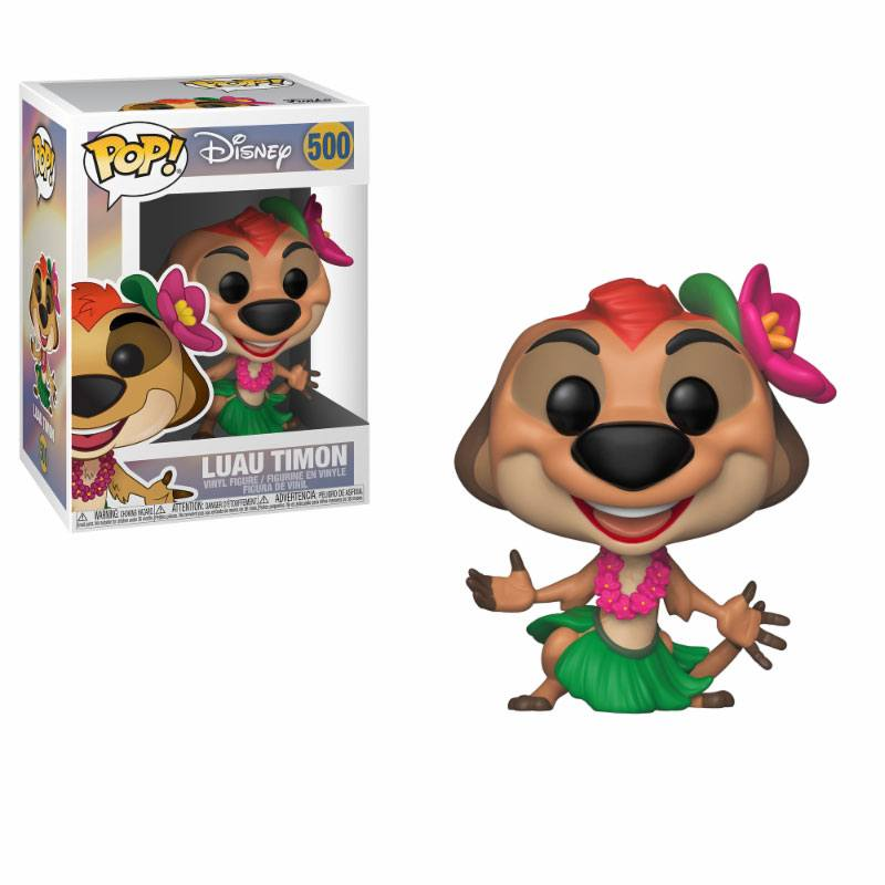 The Lion King POP! Disney Vinyl Figure Luau Timon 10 cm