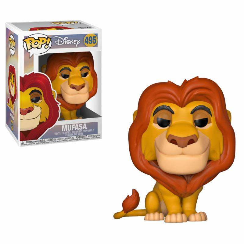 The Lion King POP! Disney Vinyl Figure Mufasa 10 cm