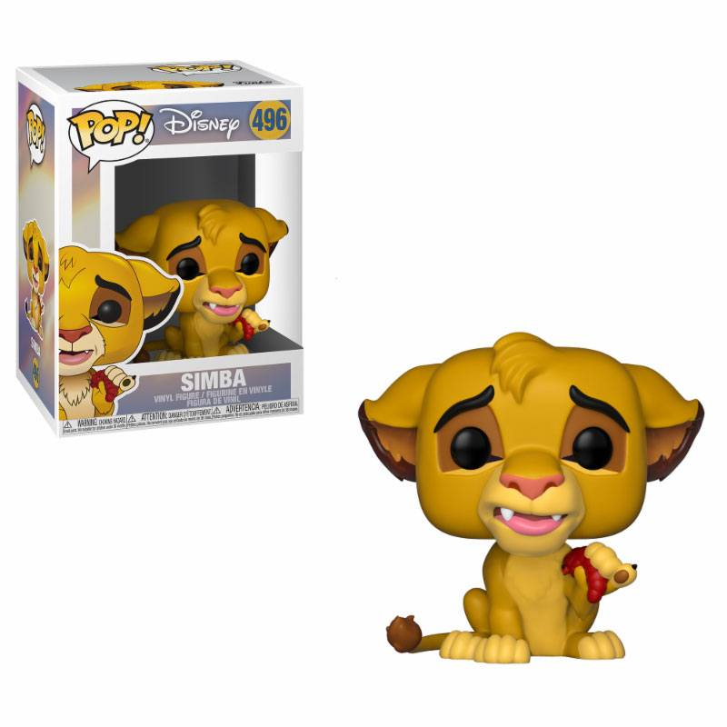 The Lion King POP! Disney Vinyl Figure Simba 10 cm