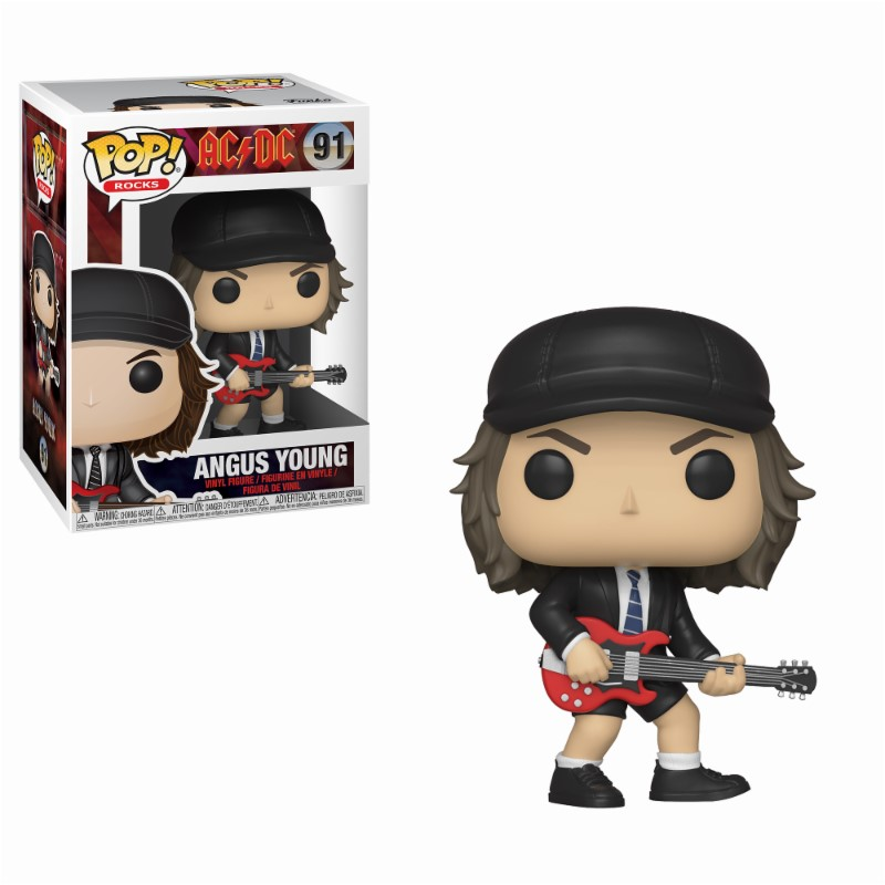 Pop! Rocks: AC-DC - Angus Young Vinyl Figure 10 cm