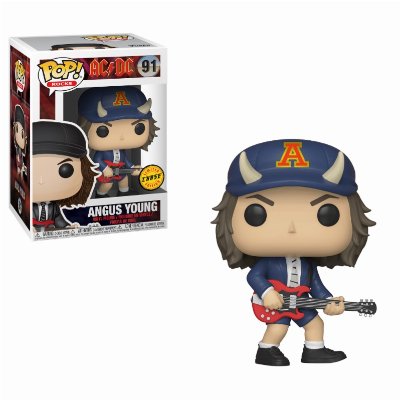 Pop! Rocks: AC-DC - Angus Young Chase Vinyl Figure 10 cm