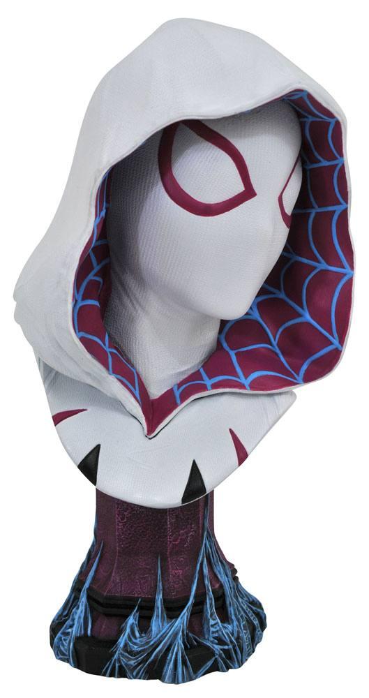 Kingdom Hearts 3 Legends in 3D Bust 1/2 Spider-Gwen 25 cm