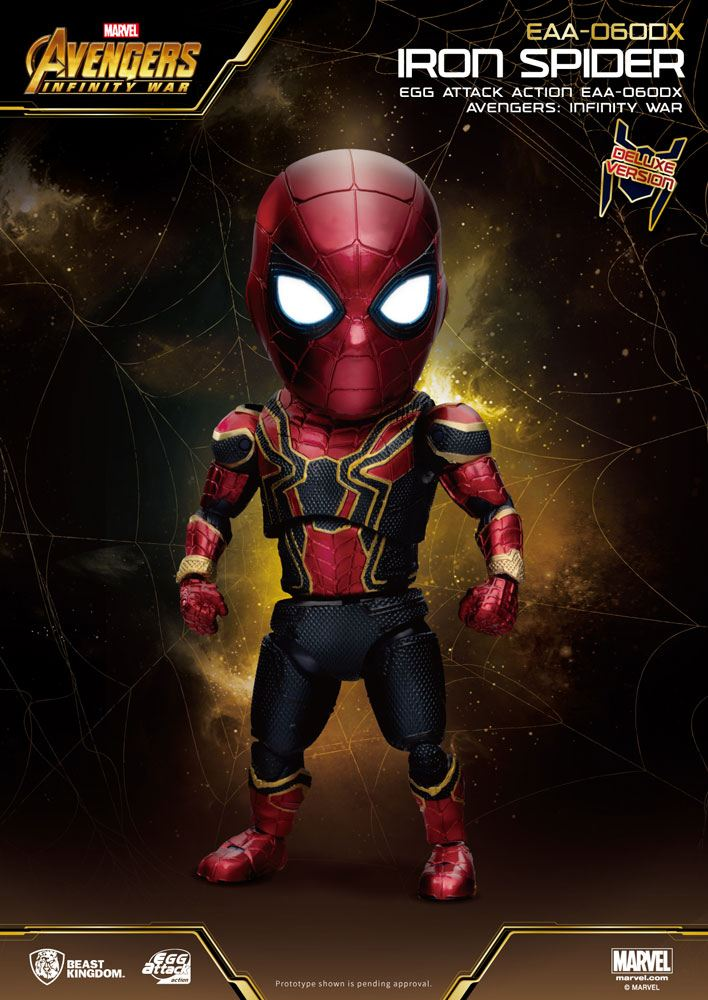 Avengers Infinity War Egg Attack AF Iron Spider Deluxe Version 16 cm