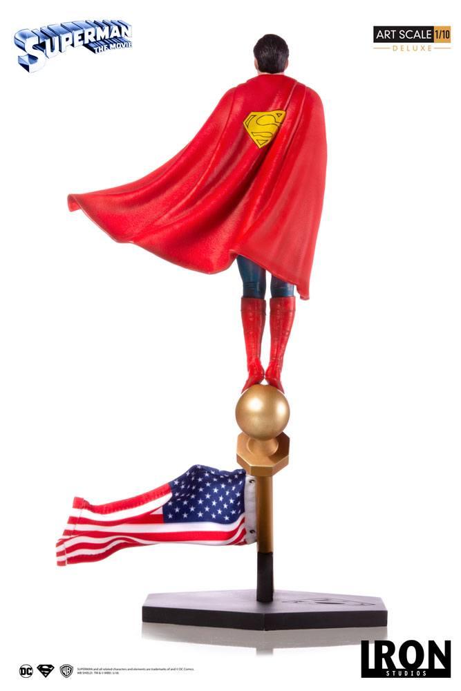 DC Comics Deluxe Art Scale Statue 1/10 Superman: The Movie 1978 35 cm