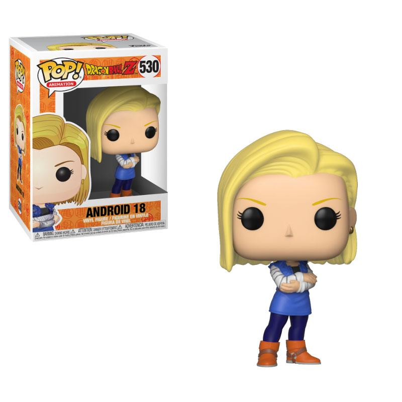 Dragonball Z POP! Animation Vinyl Figure Android 18 10 cm