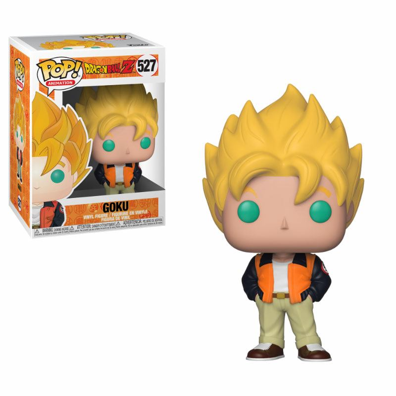 Dragonball Z POP! Animation Vinyl Figure Goku (Casual) 10 cm