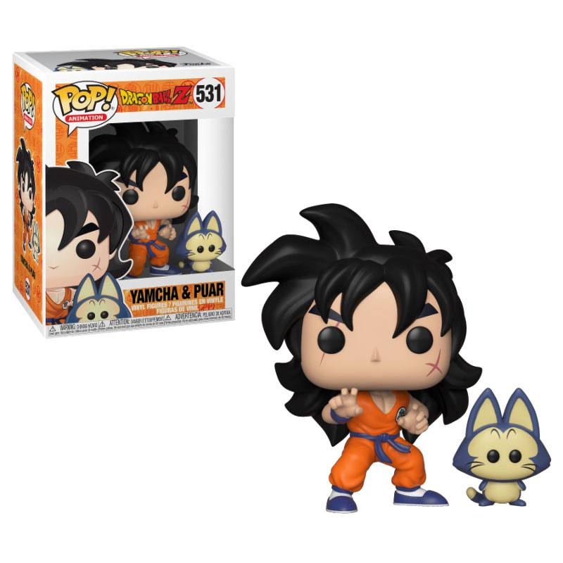 Dragonball Z POP! Animation Vinyl Figure Yamcha & Puar 10 cm