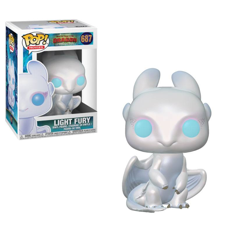 How to Train Your Dragon 3 POP! Vinyl Figure Light Fury 10 cm