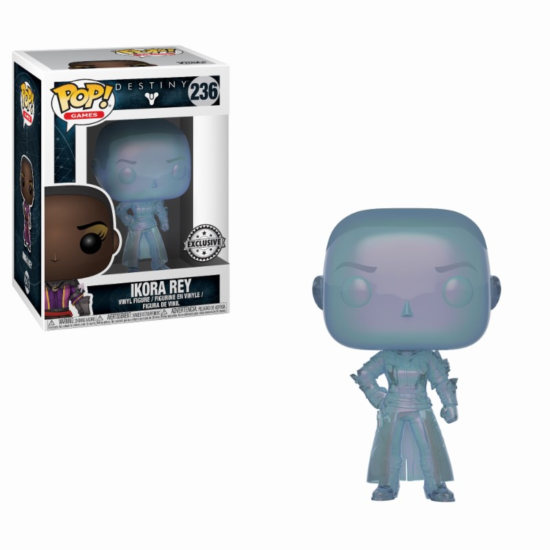 Pop! Games: Destiny - Ikora Rey Exclusive Edition Vinyl Figure 10 cm
