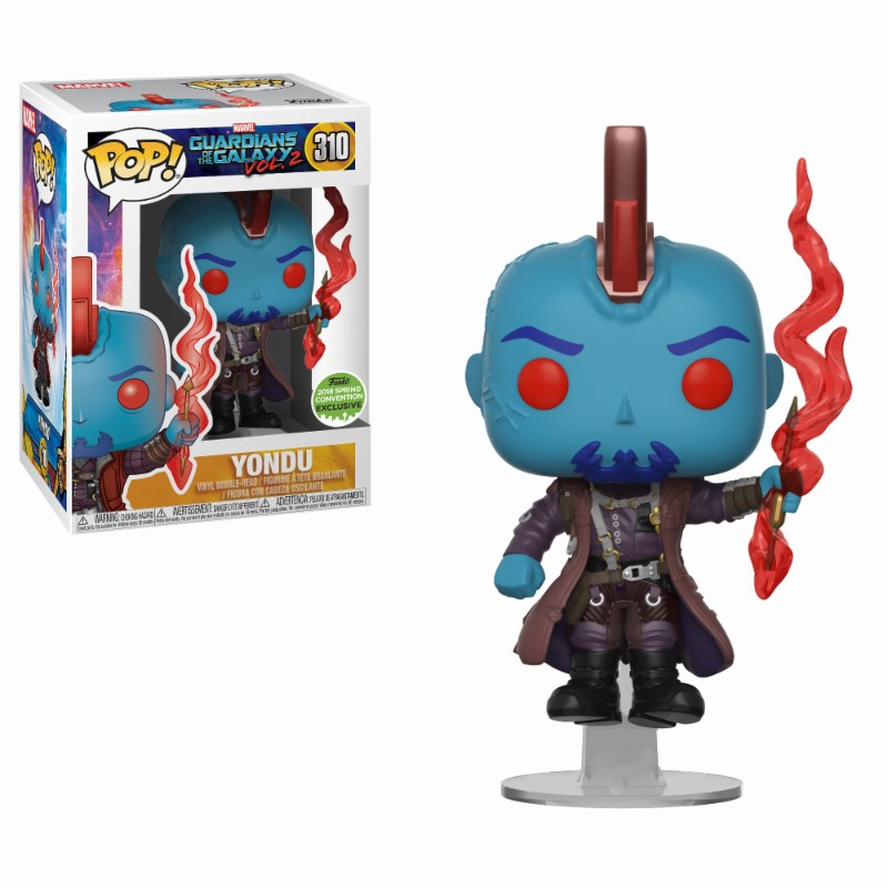 Pop! Marvel: GotG 2 - Yondu Exclusive Edition 2018 Spring Contention Exc