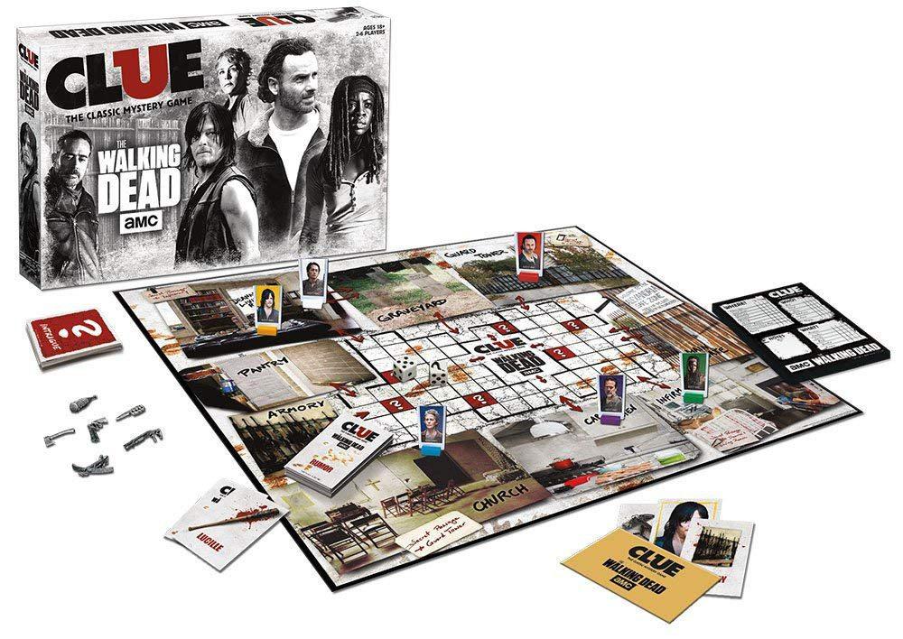Walking Dead (AMC) Board Game Clue *English Version*