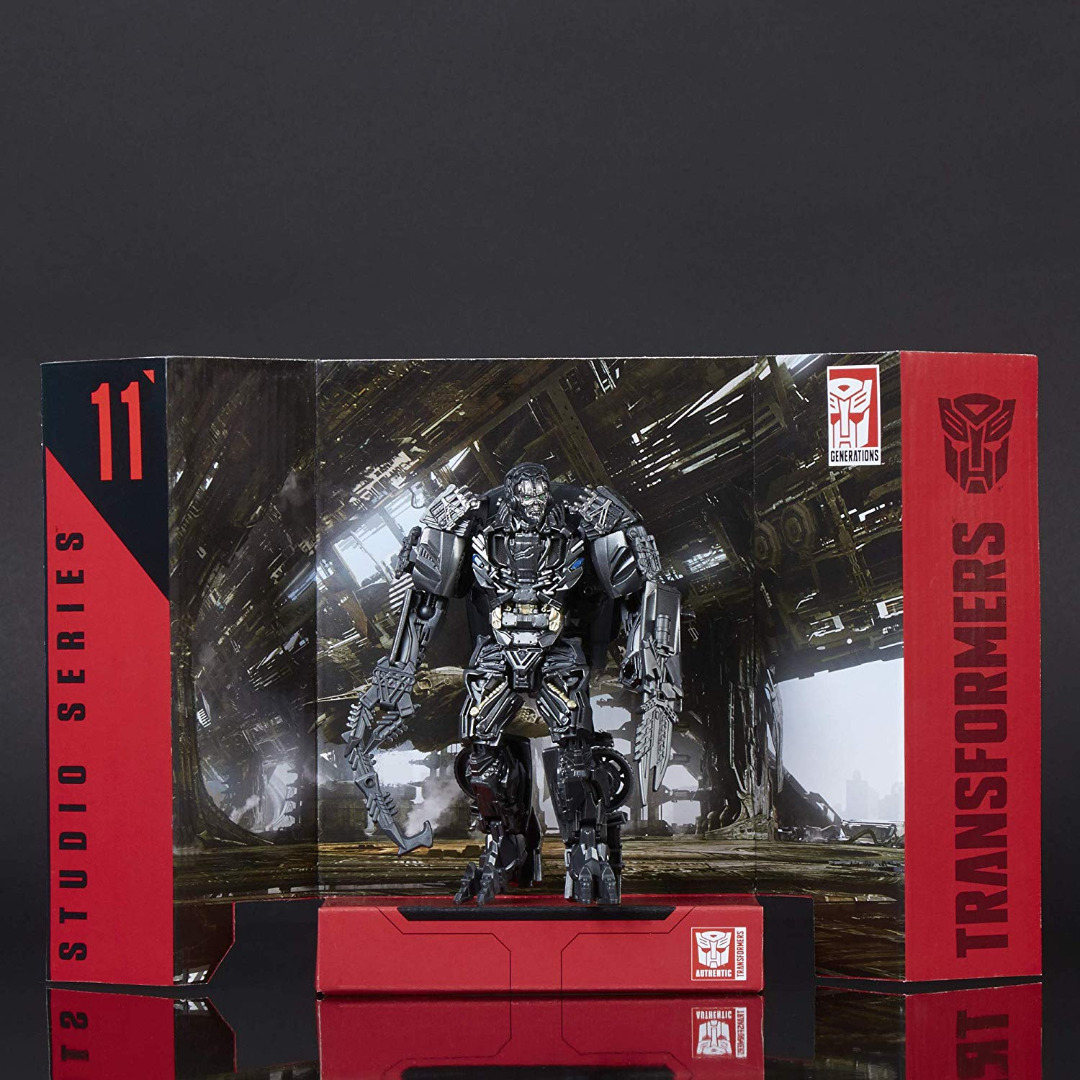 Transformers Studio Series Deluxe Class Action Figure 2018 Lockdown