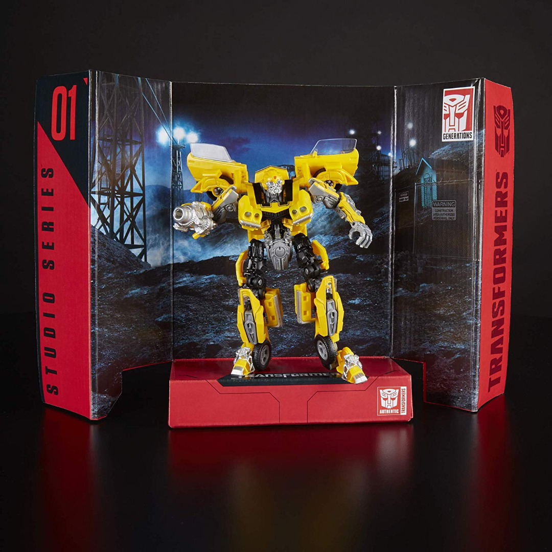 Transformers Studio Series Deluxe Class Action Figure 2018 Bumblebee