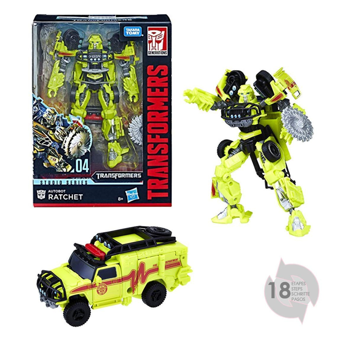 Transformers Studio Series Deluxe Class Action Figure 2018 Autobot Ratchet