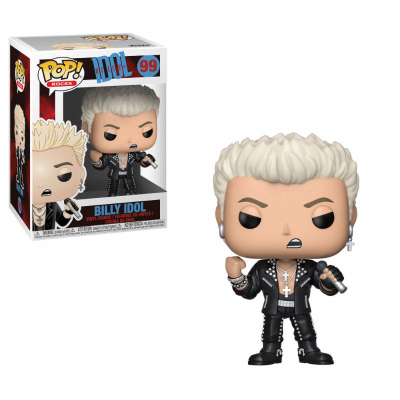 Billy Idol POP! Rocks Vinyl Figure Billy Idol 10 cm
