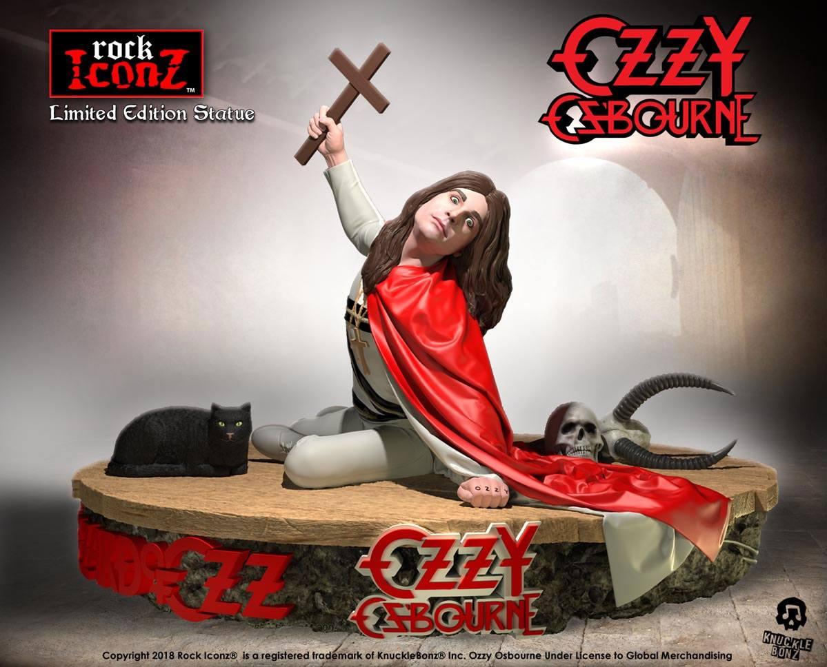 Ozzy Osbourne Rock Iconz Statue 1/9 Ozzy Osbourne II 16 x 23 cm