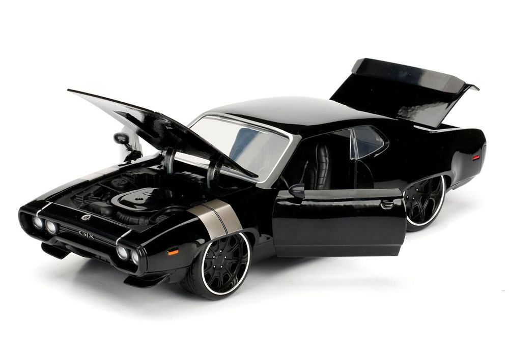 Fast & Furious Diecast Model 1/24 Dom's 1972 Plymouth GTX