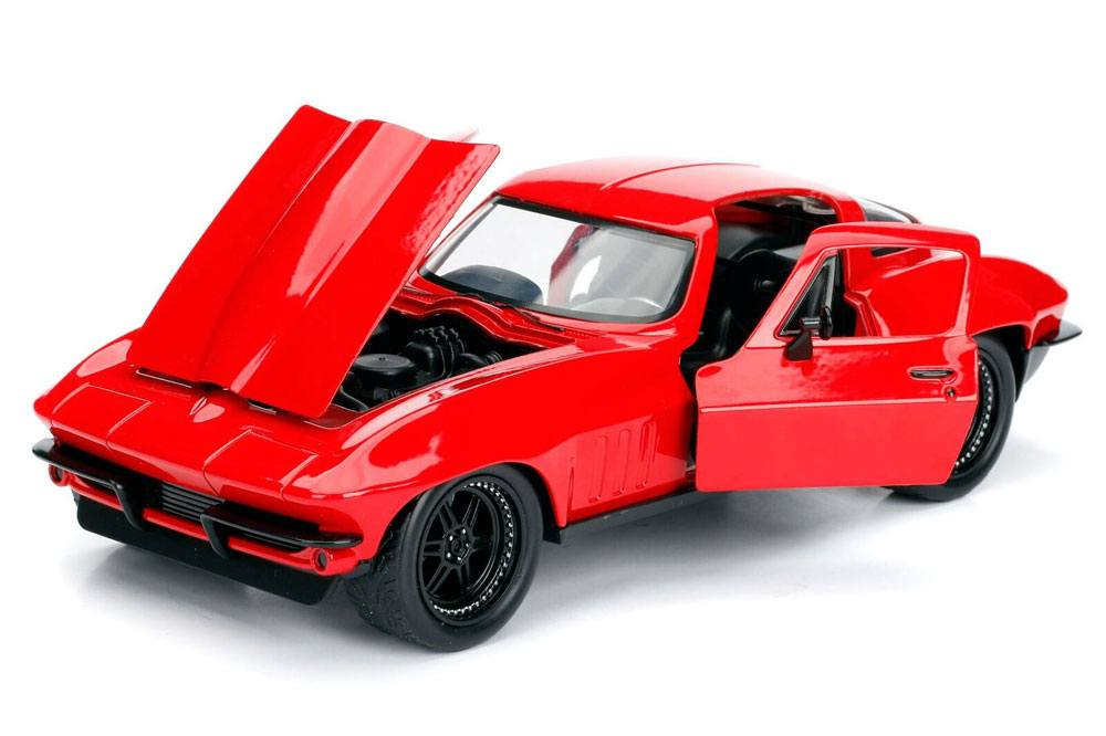 Fast & Furious Diecast Model 1/24 Letty's 1966 Chevy Corvette