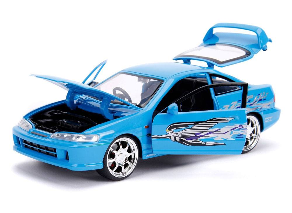 Fast & Furious Diecast Model 1/24 Mia's 1995 Honda Integra Type R
