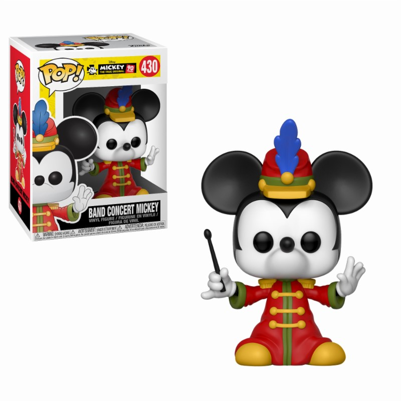 Pop! Disney: Mickey's 90th - Band Concert Vinyl Figure 10 cm