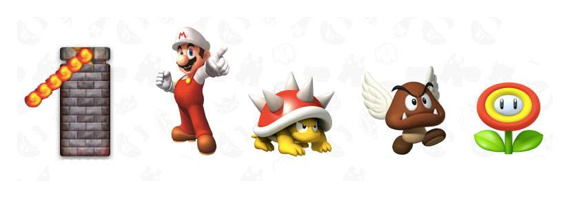 World of Nintendo Super Mario Diorama Set Lava Castle