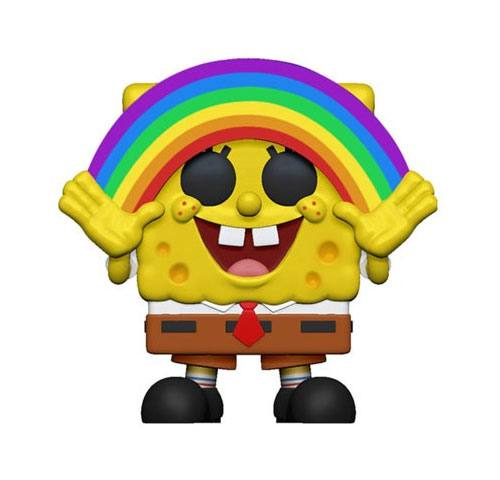 SpongeBob SquarePants POP! Vinyl Figure SpongeBob Rainbow 10 cm