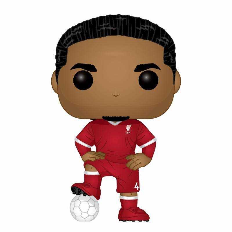 POP! Football Vinyl Figure Virgil van Dijk (LFC) 10 cm
