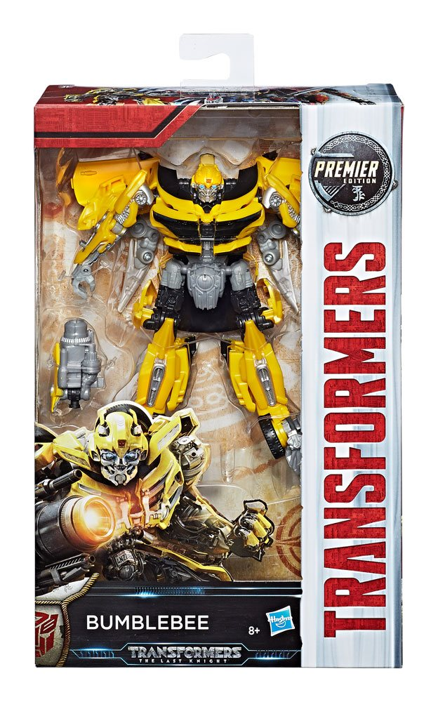 Transformers The Last Knight Premier Edition Deluxe Action Figure Bumblebee