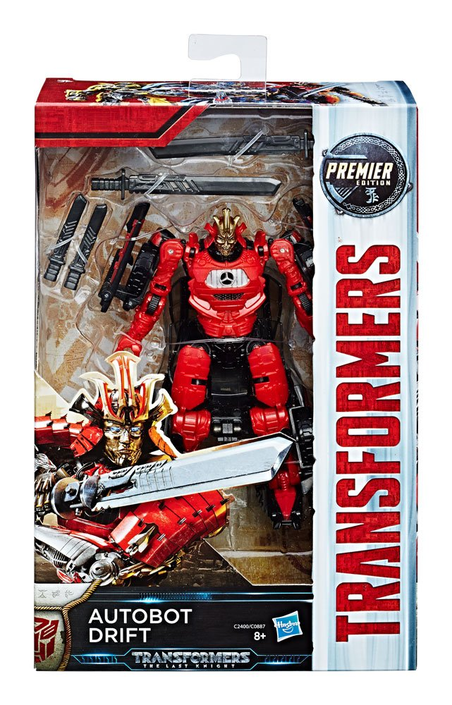 Transformers The Last Knight Premier Edition Deluxe Action Figure Drift