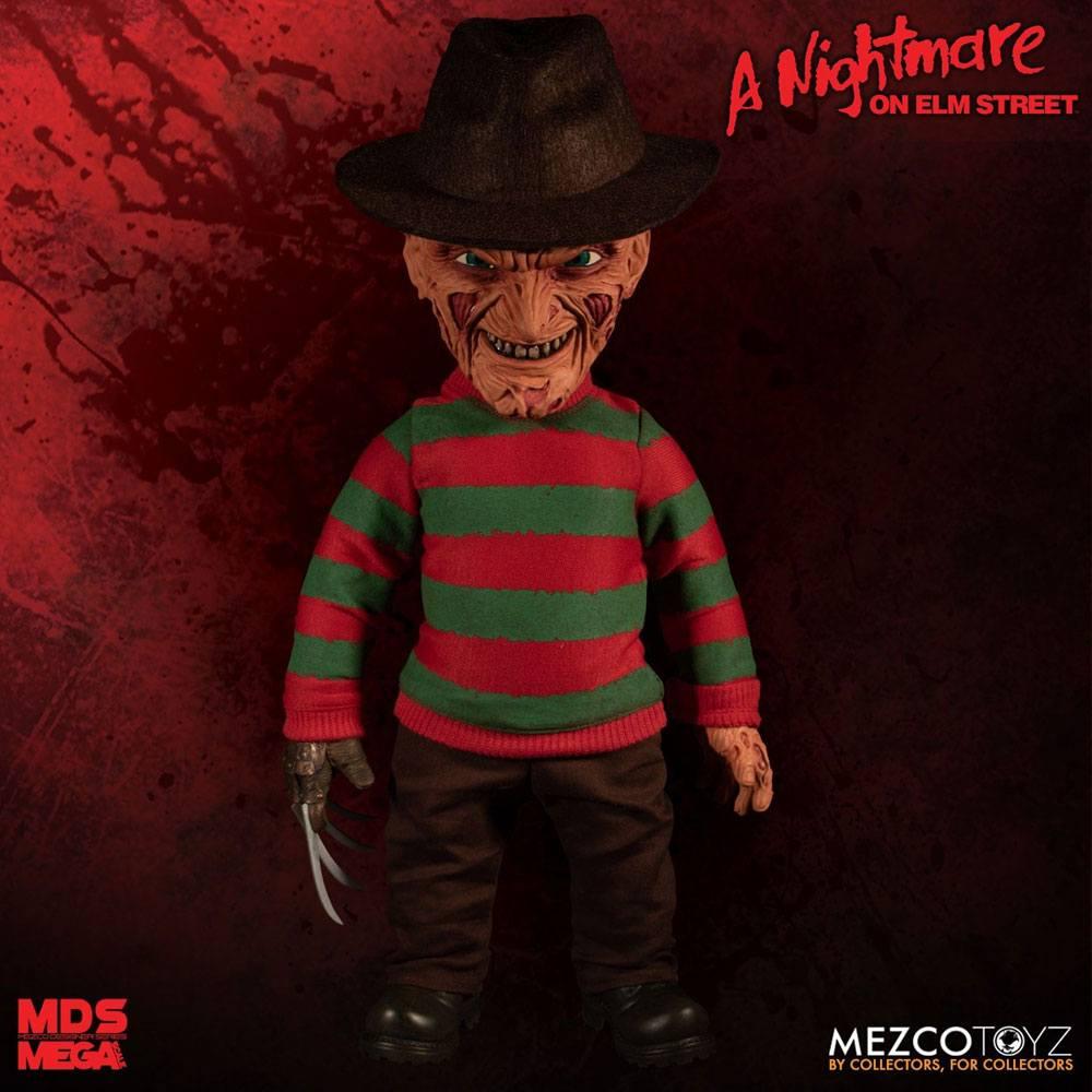 Nightmare On Elm Street Mega Scale Talking A. Figure Freddy Krueger 38 cm
