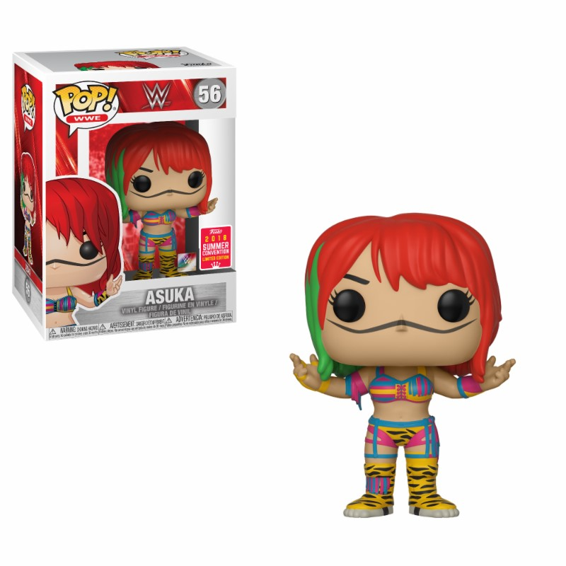 Pop! WWE - Asuka - Summer Convention 2018 Summer Conviction 2018 10 cm