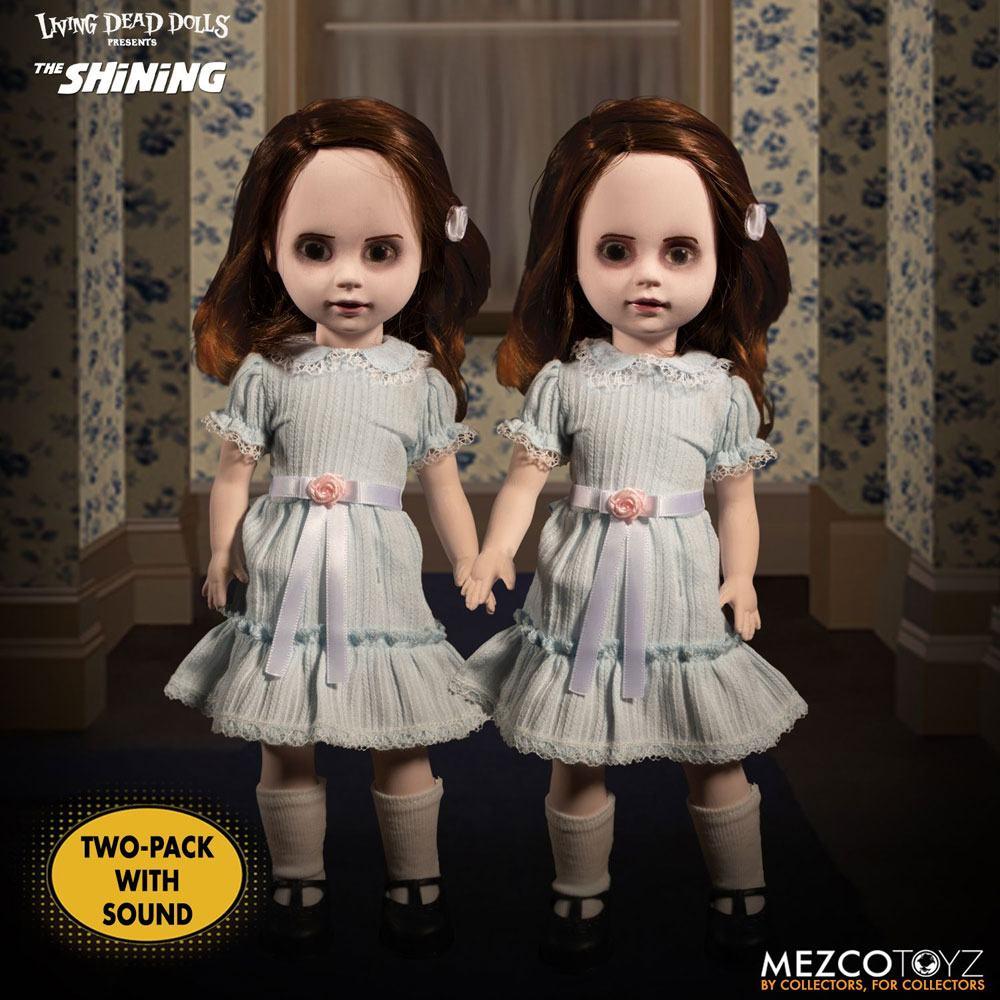 The Shining Living Dead Dolls Talking Grady Twins 25 cm