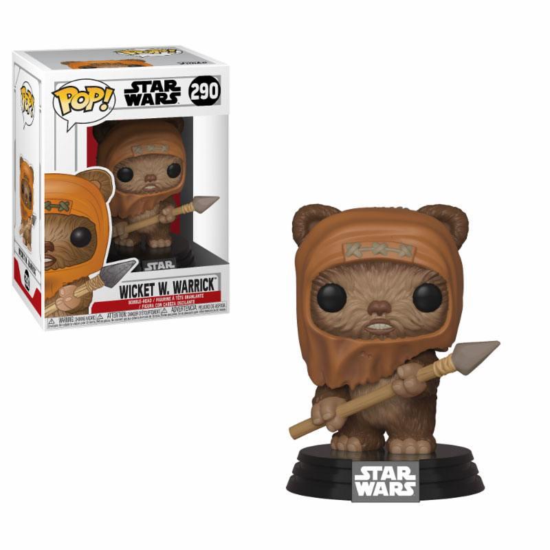 Star Wars POP! Movies Vinyl Figure Wicket 10 cm