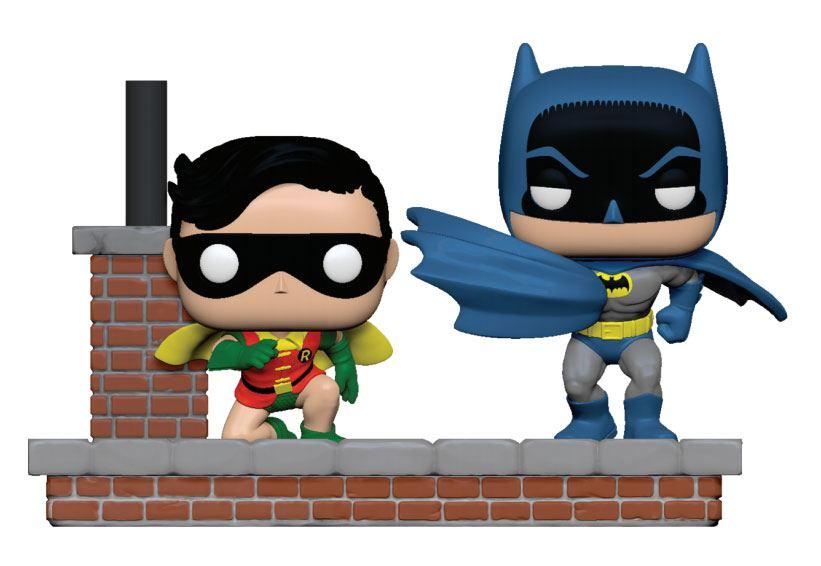 Batman 80th POP Moment! Vinyl Figures 2-Pack Look Batman Robin (1964) 10 cm
