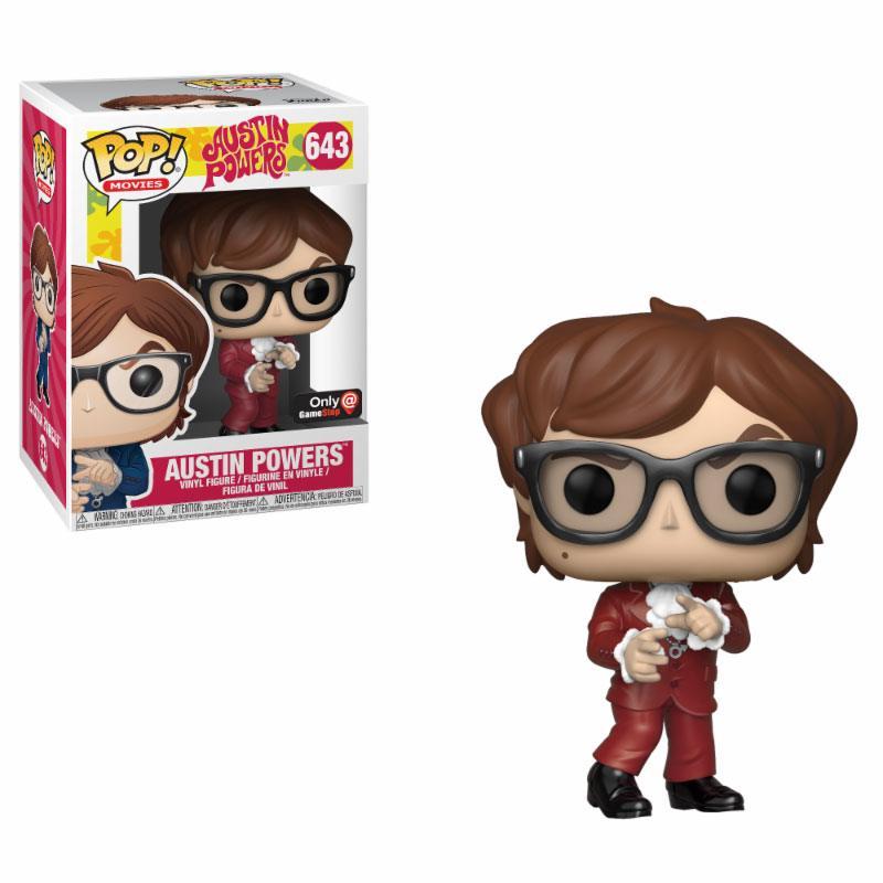 Austin Powers POP! Movies Vinyl Figure Austin Powers Red Suit Exclusive Edt