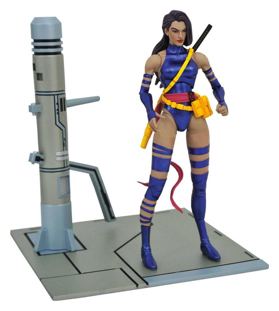 Marvel Select Action Figure Psylocke 18 cm