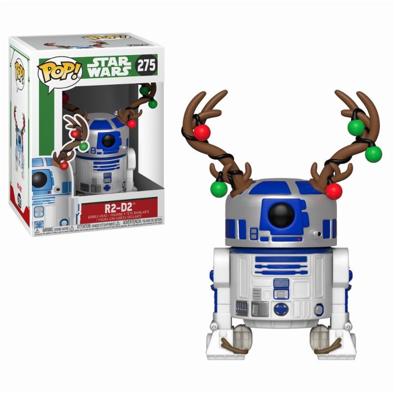 Pop! Star Wars: Holiday - R2-D2 with Antlers Vinyl Figure 10 cm