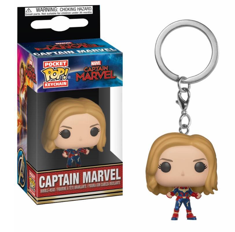 Captain Marvel Pocket POP! Vinyl Keychain Captain Marvel 4 cm