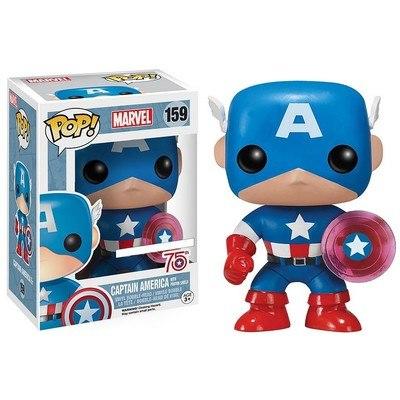 Marvel Comics POP! Marvel Captain America Photon Shield 75th Anniversary EX