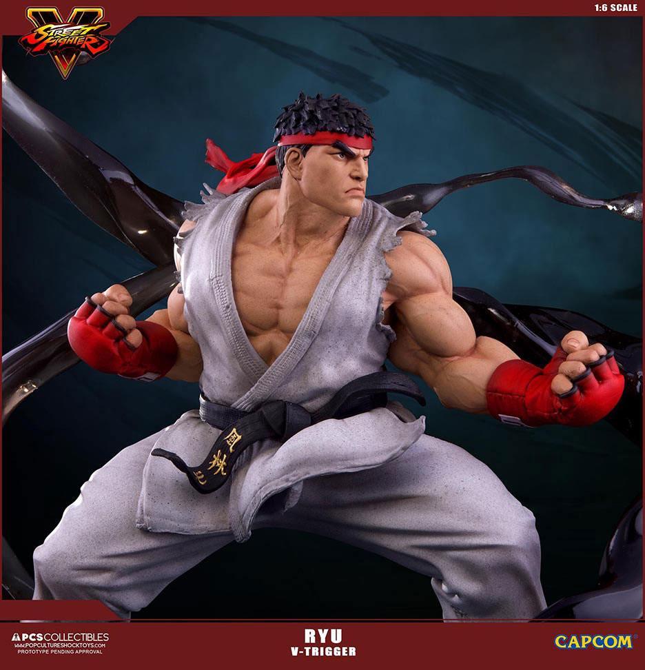 Street Fighter V Statue 1/6 Ryu V-Trigger 32 cm