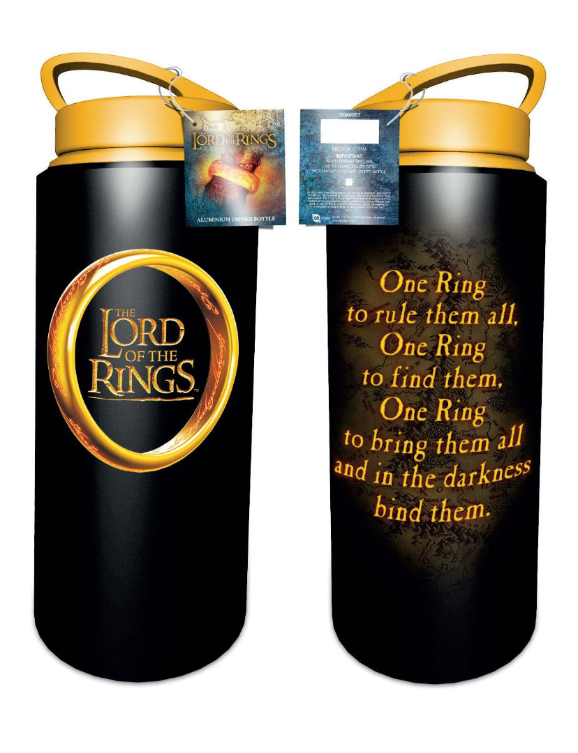 Lord of the Rings Drink Bottle One Ring